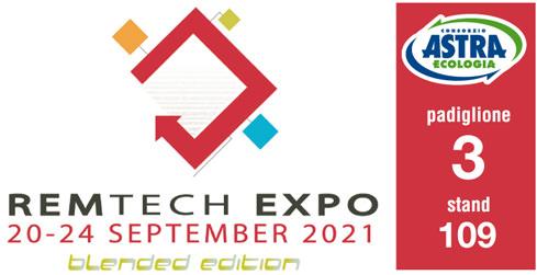 ASTRA al RemTech Expo di Ferrara. 20-24 settembre 2021